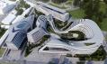 Multifunkční komplex Beko vBělehradu odZahy Hadid