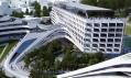Multifunkční komplex Beko v Bělehradu od Zahy Hadid