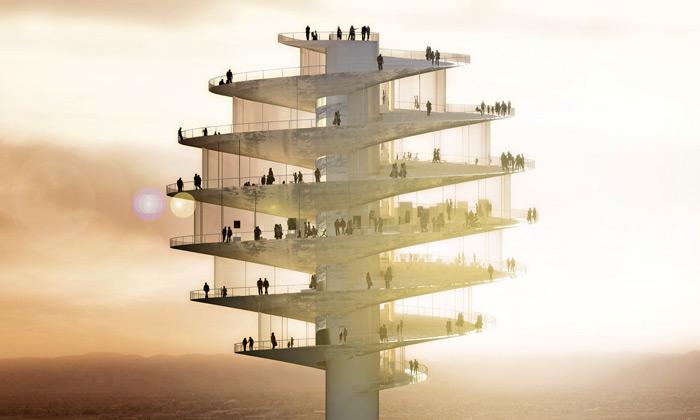 Phoenix staví vyhlídkovou věž odBIG jako špendlík