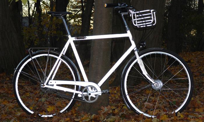 Američan navrhl nejbezpečnější reflexní jízdní kolo