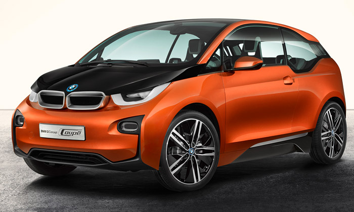 BMW i3 Coupe jekoncept elektrického sporťáku