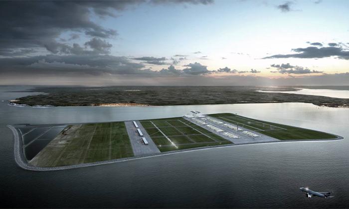 Blízko Londýna má vyrůst plovoucí letiště Goodwin
