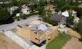 Prefabrikovaný dřevěný dům ve vesničce Pedrezuela u Madridu