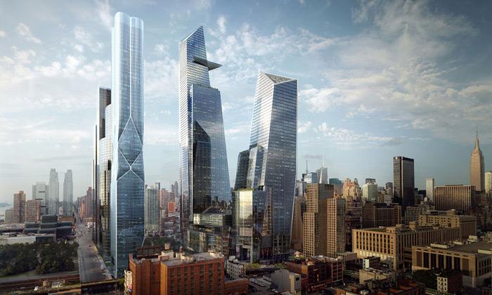 Začala největší newyorská výstavba Hudson Yards