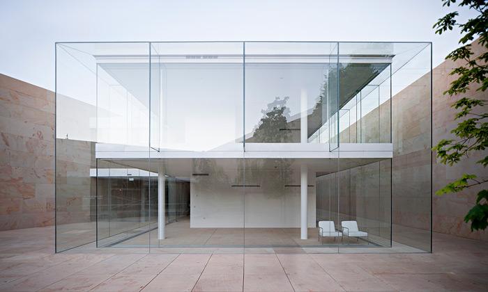 Španělská Zamora má kanceláře ze skla akamene