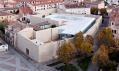 Skleněné kanceláře ve španělském městě Zamora od Alberto Campo Baeza