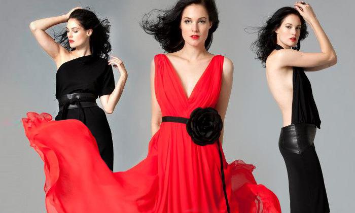 Tatiana představila černočernou podzimní kolekci