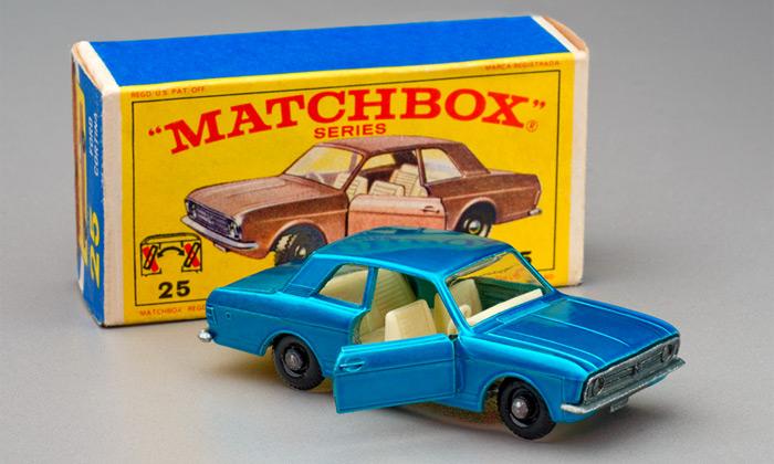 UPM vystavuje 1500 nejlepších angličáků Matchbox