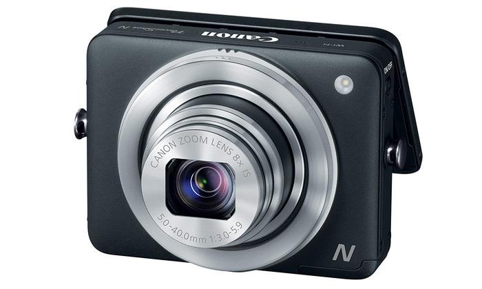Canon představil ještě menší foťák PowerShot N