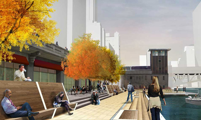 Chicago postaví nanábřeží promenádu isdivadlem