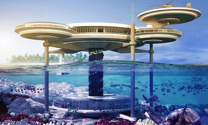 Poláci postaví futuristický podmořský hotel Discus