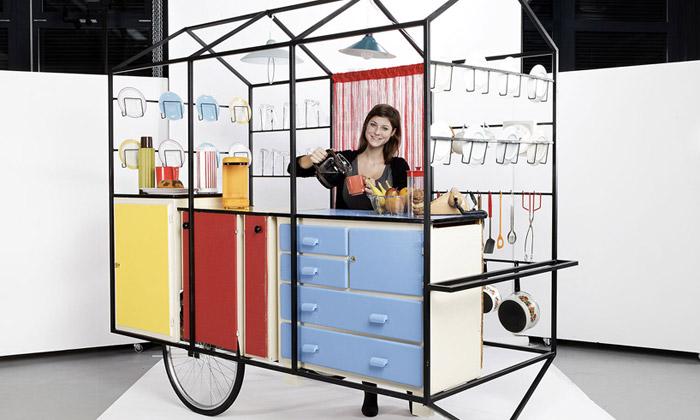 Ženevští studenti navrhli venkovní mobilní kuchyni