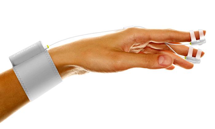 Futuristická vibrační pomůcka Hello Touch od JimmyJane
