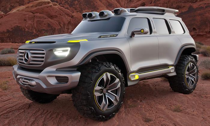 Mercedes ukázal offroad budoucnosti Ener-G-Force