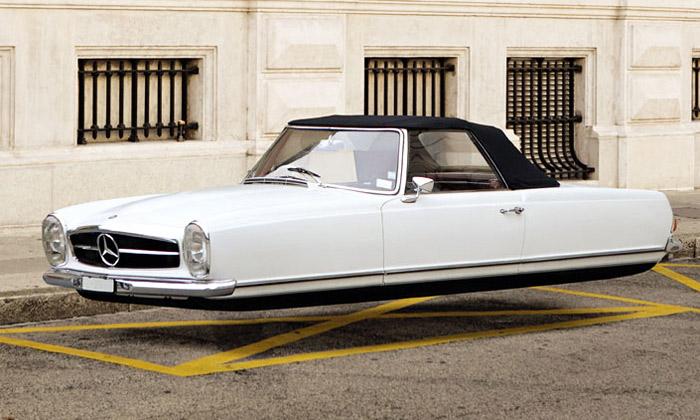 Air Drive jelétající série slavných retro automobilů