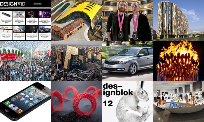 Rok 2012 přinesl skvostné stavby ičeský design