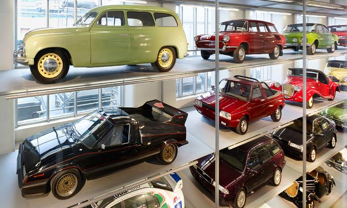 Škoda otevřela nové multimediální Škoda Muzeum