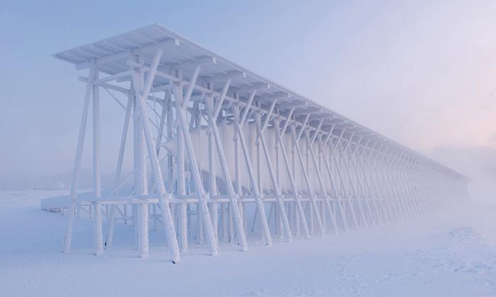 Peter Zumthor postavil Norsku památník Steilneset