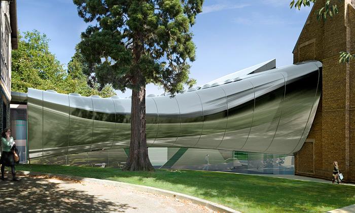 Oxford postaví Softbridge podle designu Zahy Hadid