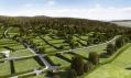 Vizualizace pozemků projektu Záhorské sady od Serie Architects
