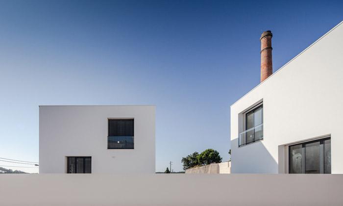 Portugalská banka stojí vbývalé průmyslové čtvrti