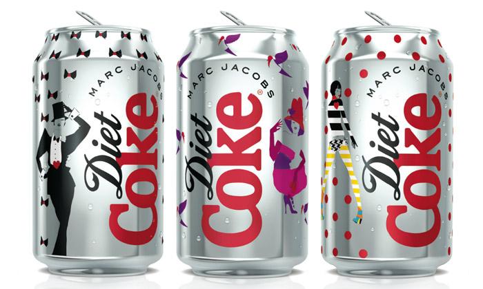 Marc Jacobs navrhl módní plechovky Coca-Cola Light