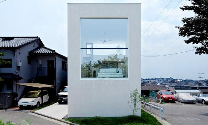 Minimalistický dům vHiyoshi má otevřený interiér