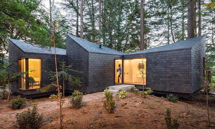 Ekologický resort vPortugalsku nabízí domky vlese