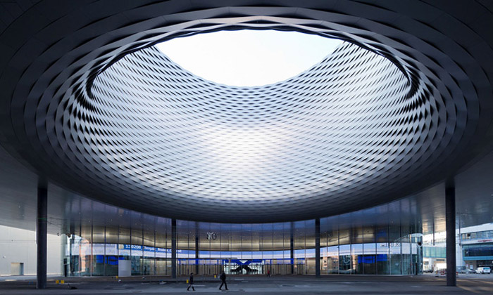 Herzog & de Meuron postavili výstaviště vBasileji