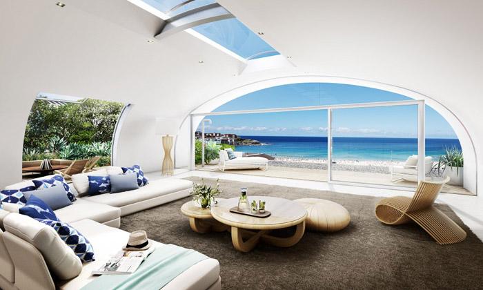 Pacific Bondi Beach jeluxusní bydlení hned upláže