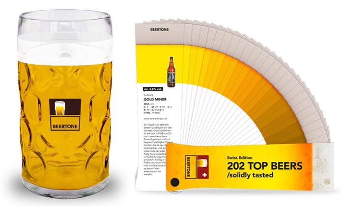 Beertone jevzorník iprůvodce pivy jedné země
