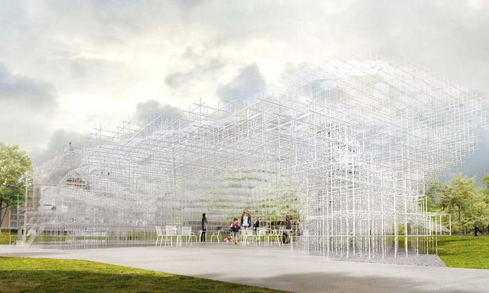 Serpentine pavilon postaví Sou Fujimoto jako mrak