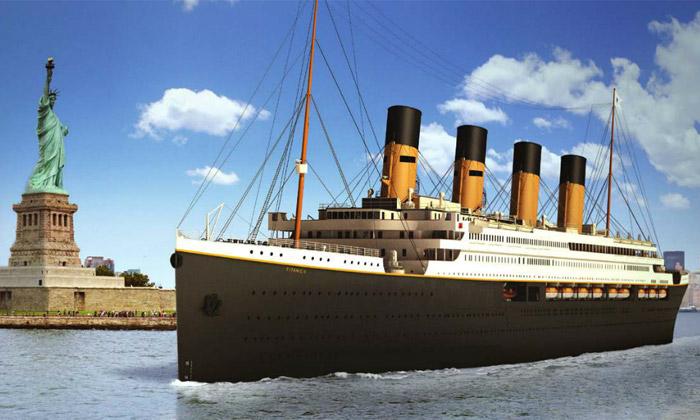 Titanic II jako replika vypluje namoře vroce 2016