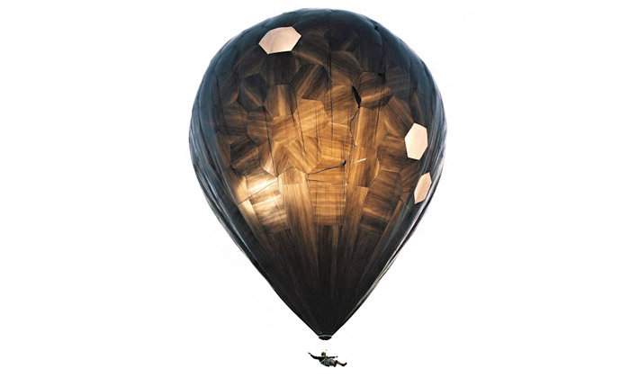 Saraceno navrhl snadno vyrobitelný létající balón