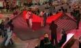 Valenstýnské srdce Heartwalk nanewyorském Times Square odstudia Situ
