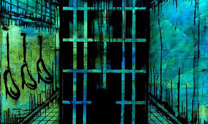 Fosforeskující obrazy vystaveny naArt Prague 2013