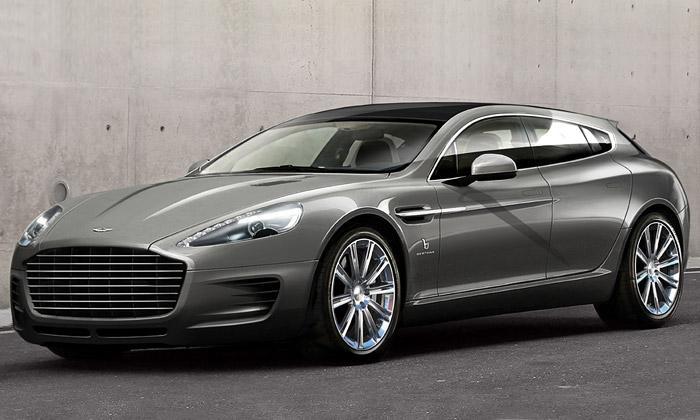 Bertone navrhlo pro Aston Martin koncept Jet 2+2