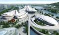 Changsha Meixihu International Culture & Art Centre odZahy Hadid