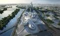 Changsha Meixihu International Culture & Art Centre od Zahy Hadid
