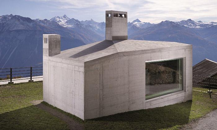 GJF otevřela dvě výstavy ošvýcarské architektuře