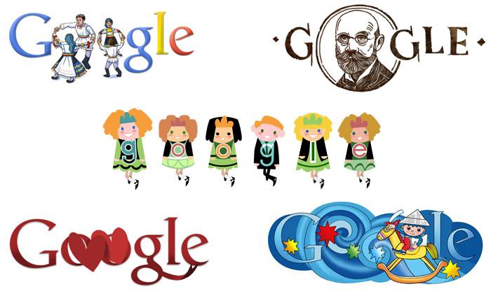 Google místo loga zobrazuje už ianimované Doodles
