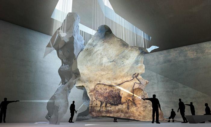 Nové návštěvnické centrum jeskyních maleb Lascaux 4