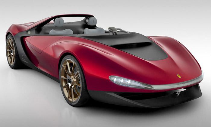 Pininfarina ukázala koncept sporťáku Ferrari Sergio