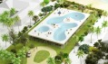 Pool House od NL Architects pro Del Ray Beach na Floridě
