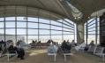 Letiště Queen Alia International Airport v Ammánu v Jordánsku od Foster + Partners