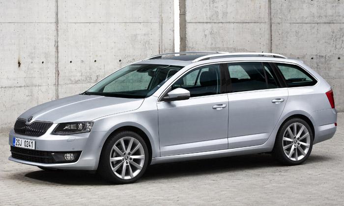Škoda dala nový design imodelu Octavia Combi