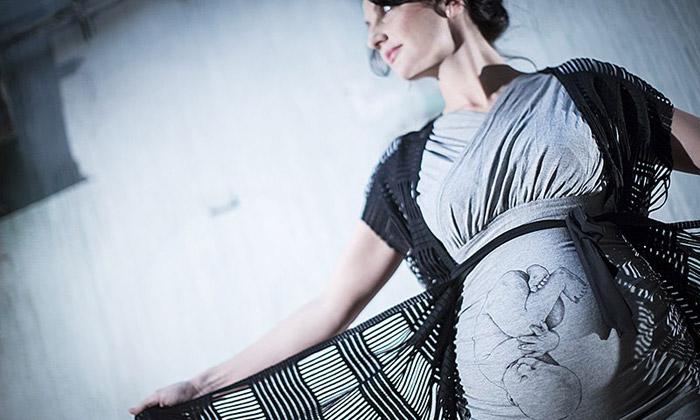 Česká značka CherCher navrhuje módu pro těhotné
