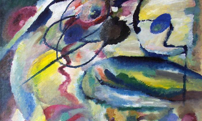 Kandinského abstraktní obrazy vystaveny vBruselu