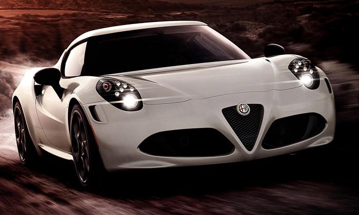 Alfa Romeo 4C vychází vlimitované edici 1000 kusů