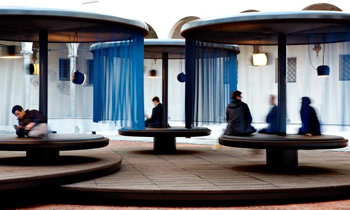 Miláno nabízí čtyři relaxační kolotoče Quiet Motion